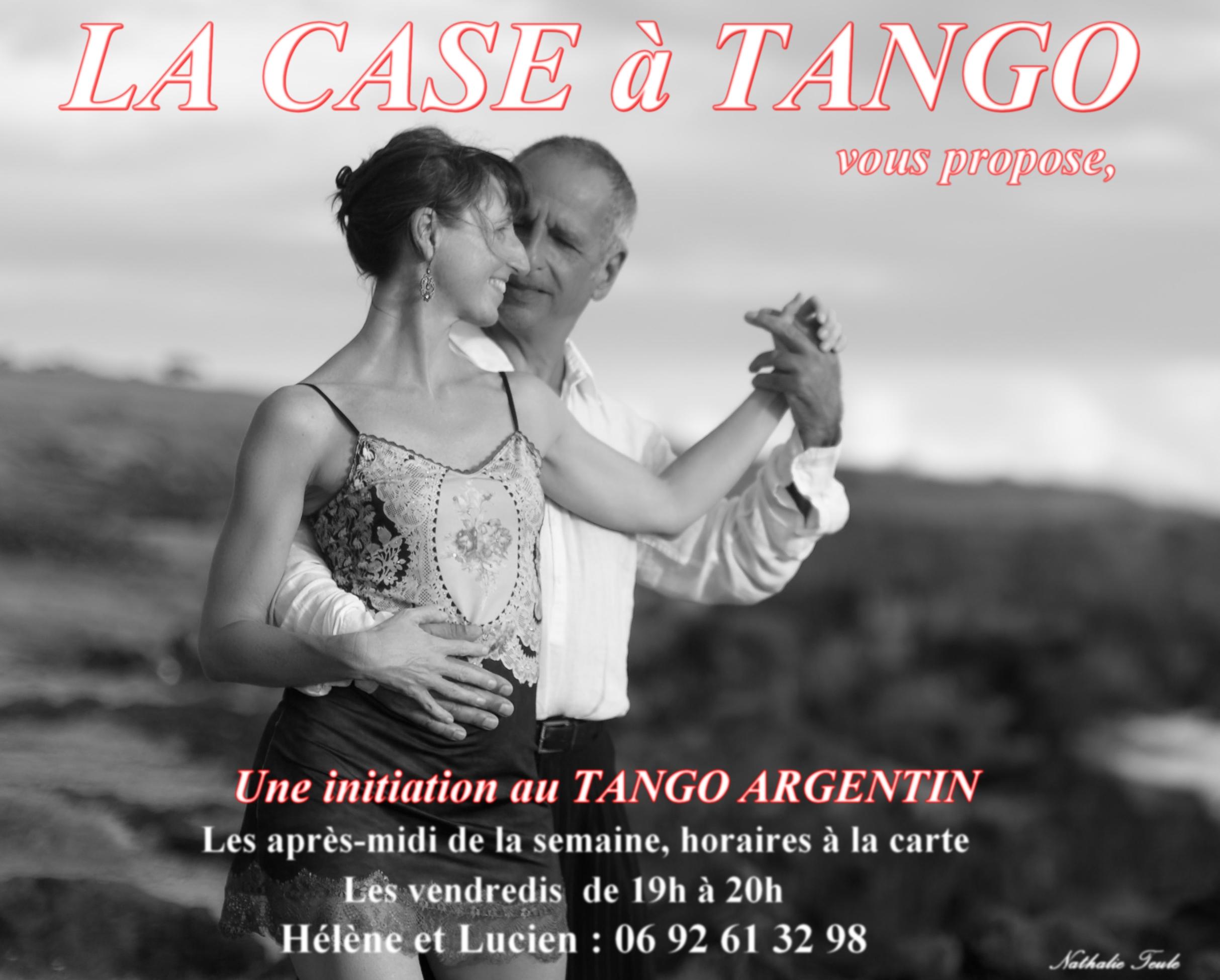A LA CASE à TANGO